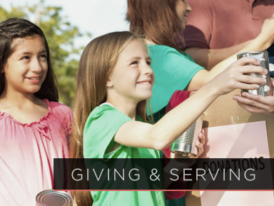 Giving & Serving